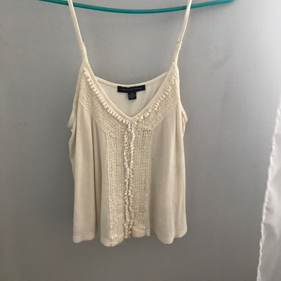 American Eagle Outfitters Tops - White Tank Top
